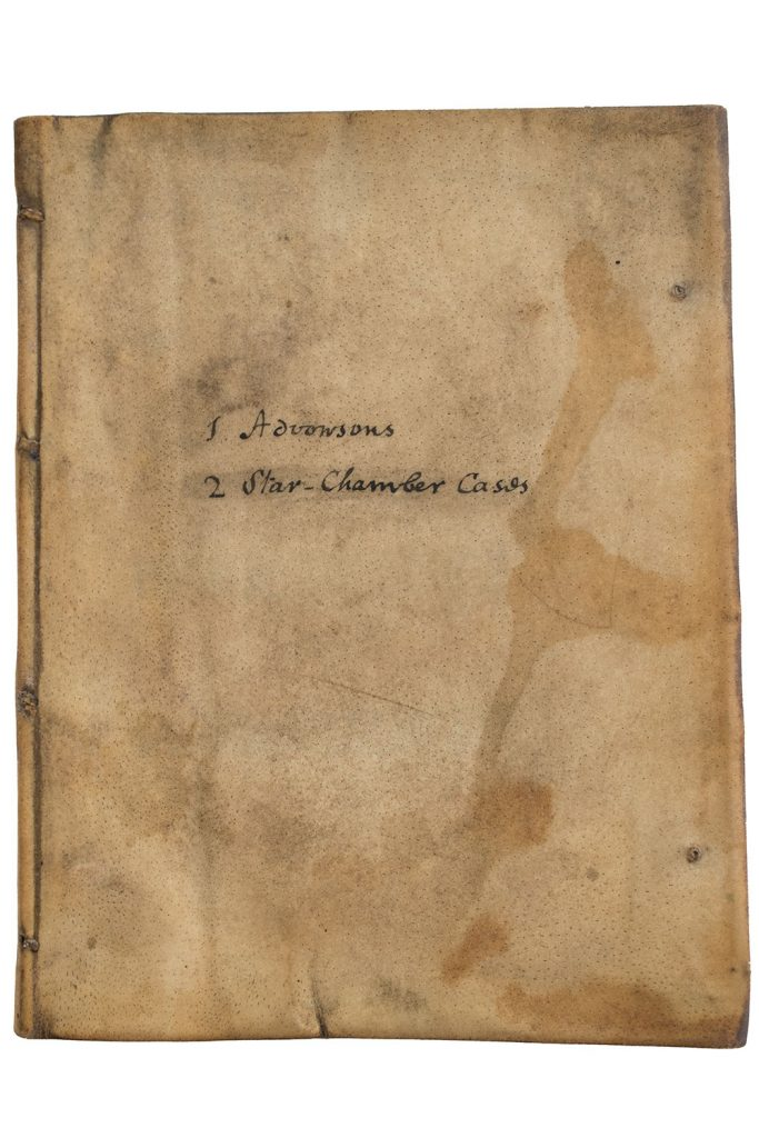Front cover of sammelband of 1630 John Grove editions